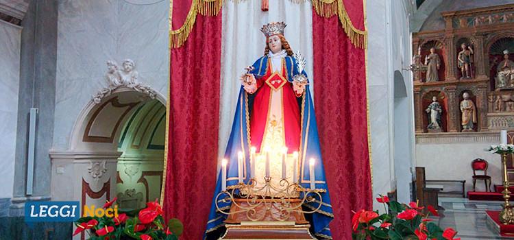 Santa Lucia, falò e messa con il vescovo Favale