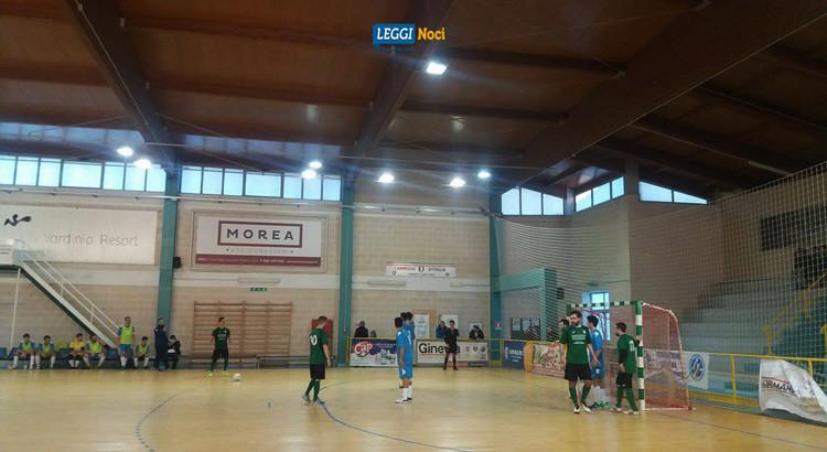 Derby C5: Noci Azzurri a valanga sul Futsal