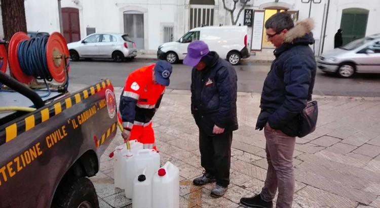 Approvvigionamento idrico: autobotte in funzione anche oggi
