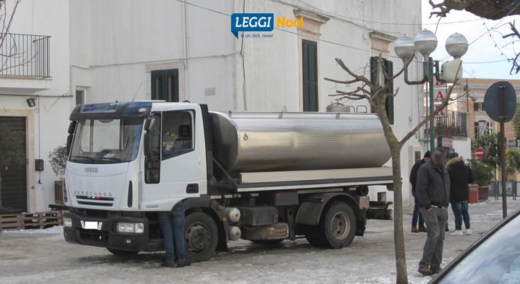Approvvigionamento idrico: arriva l'autobotte comunale