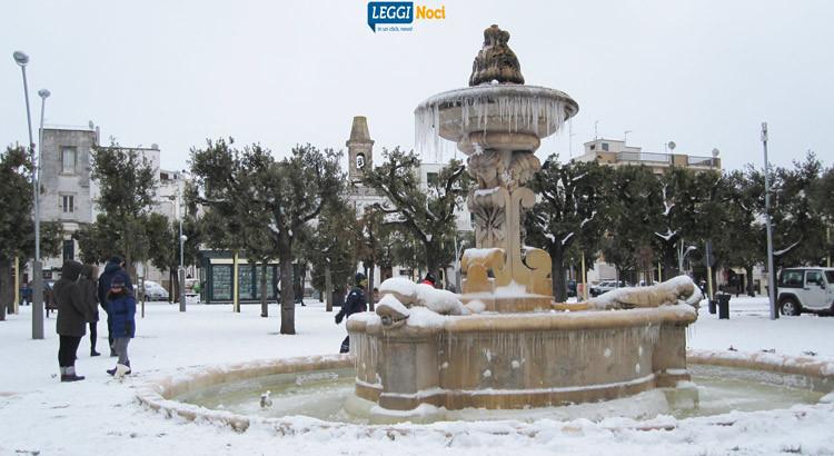 Neve e ambiente a Noci