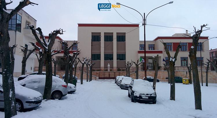 Aggiornamenti situazione neve: scuole chiuse e sgombero strade provinciali