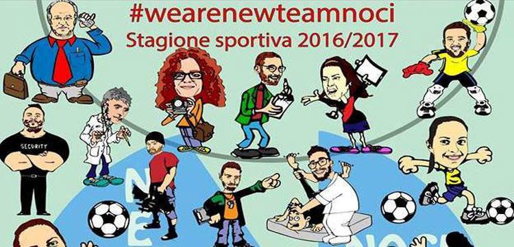 New Team Noci: un calendario fumetto per il 2017