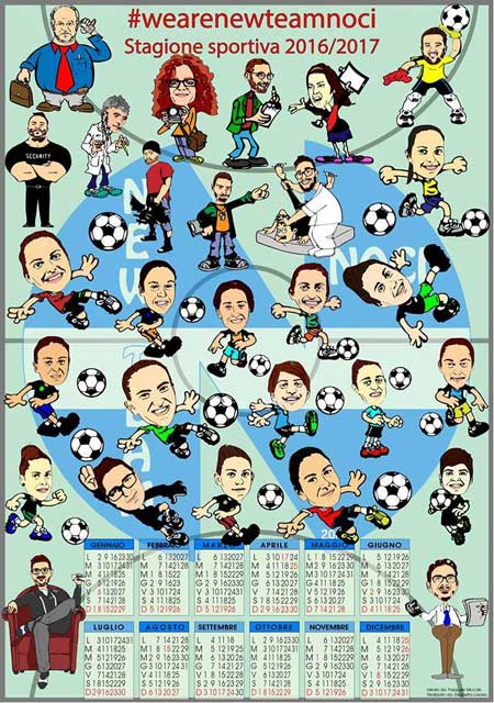 new-team-noci-calendario-fumetti