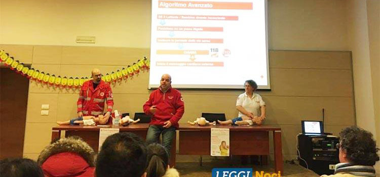 """""""Manovre salvavita pediatriche e sonno sicuro"""": la Croce Rossa Italiana informa i nocesi"""