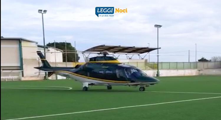 In elicottero per un regalo speciale