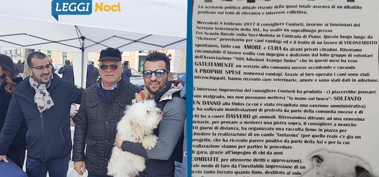 Cani e legalità: maggioranza e opposizione scendono in piazza