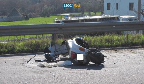 Travolto sulla provinciale, muore motociclista nocese