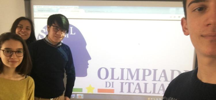 Olimpiadi di Italiano: tre liceali alle fasi regionali