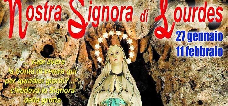 Festeggiamenti in onore della Madonna di Lourdes