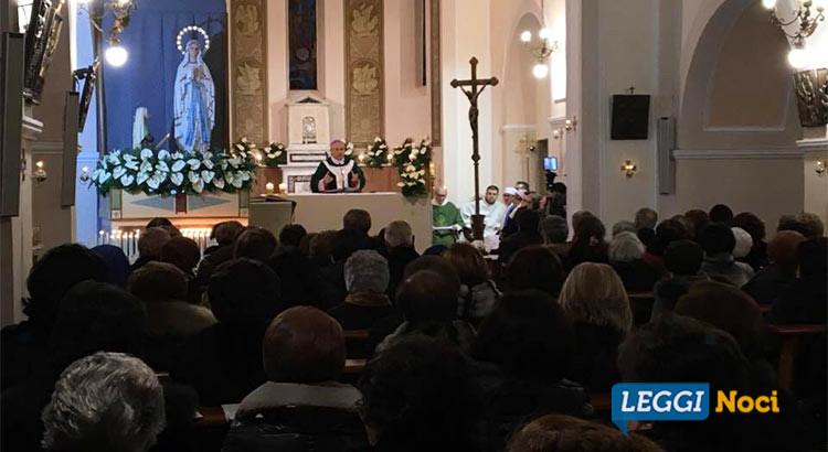 La comunità nocese rende omaggio alla Madonna di Lourdes