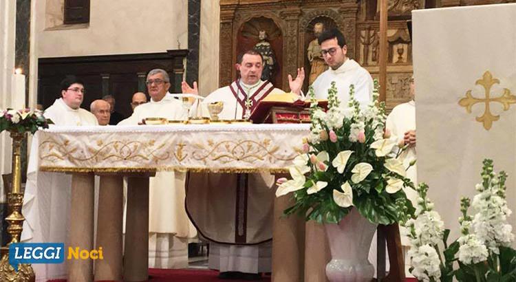 Mons. Giovanni Intini, prima messa da vescovo a Noci