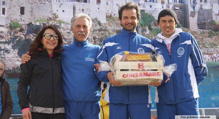 Podismo: Montedoro prima a Polignano, protagonisti i big della società nocese