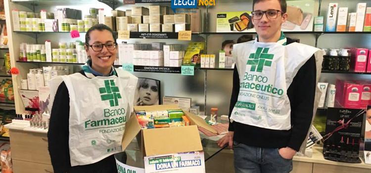 Giornata di Raccolta del Farmaco, donate 290 confezioni