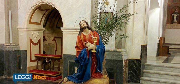 """In quaresima con l'arte: """"Gesù negli ulivi"""" nella seconda lectio divina"""