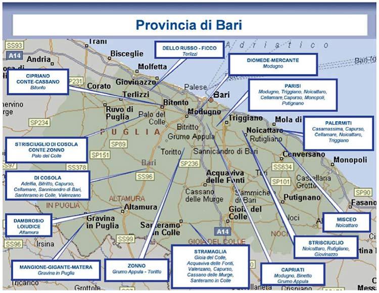 Clan provincia Bari 2016