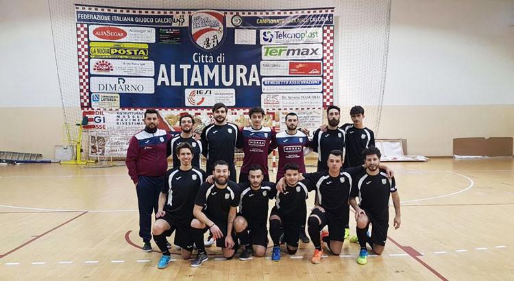 """Futsal Noci supera l'Alta Futsal, Gianfrate: """"abbiamo dimostrato che stiamo crescendo"""""""