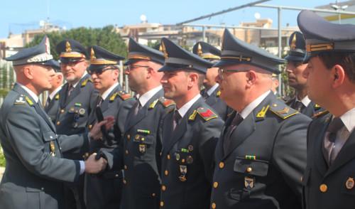 GdiF: il Gen. Augelli in visita alla Compagnia di Monopoli