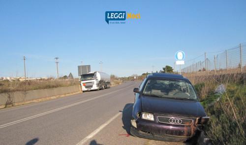 Schianto sulla circonvallazione, due feriti