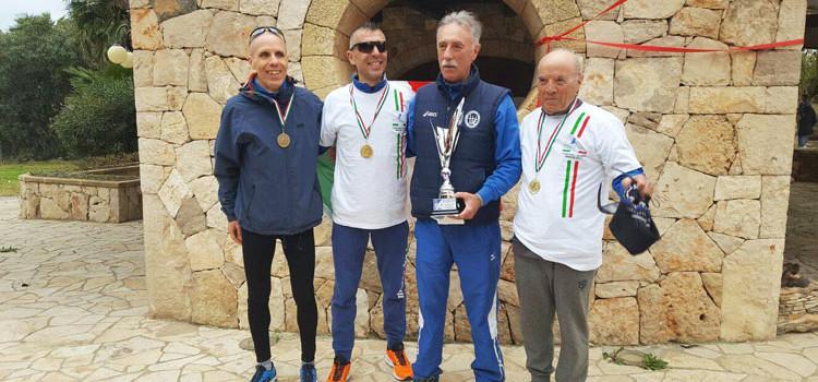 Montedoro Noci: Minerva e Lippolis campioni italiani al cross di Ugento