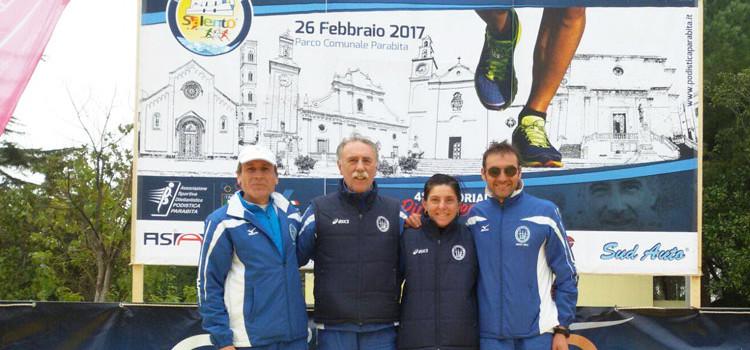 Podismo: a Parabita tre atleti Montedoro campioni regionali