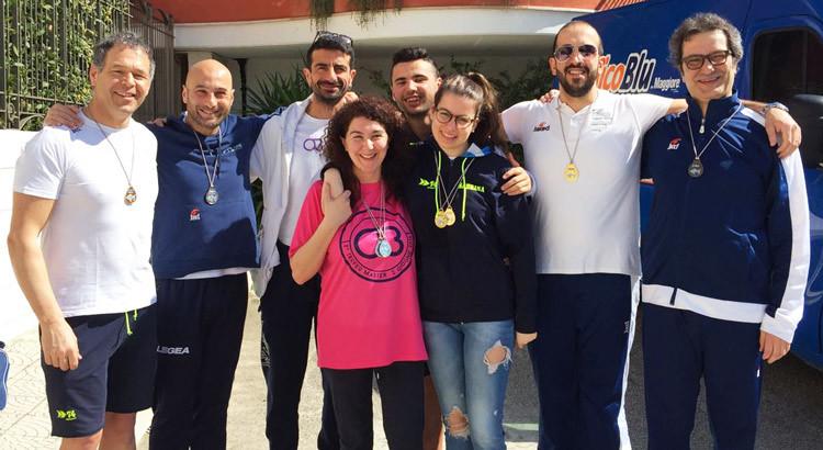 10° Trofeo Nazionale Aquarius, Otrè Master conquista 32 medaglie