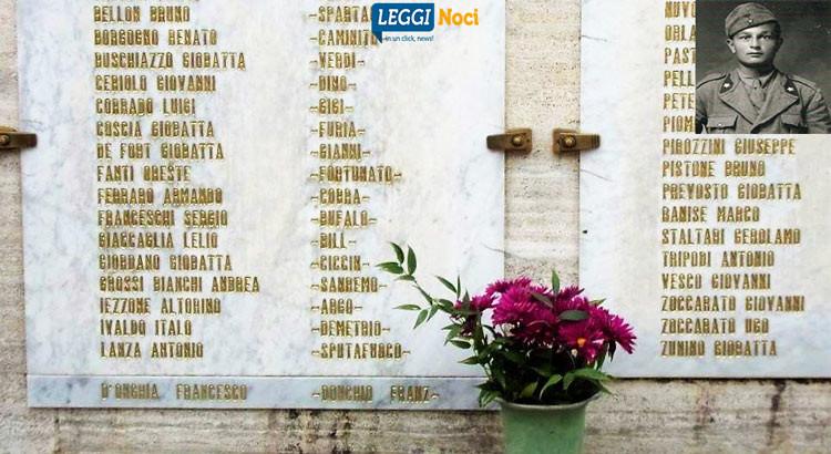 """L'ANPI omaggia """"Franz"""", partigiano nocese morto a Sanremo"""