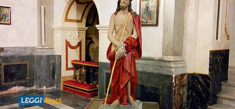 """In quaresima con l'arte: la statua dell'""""Ecce homo"""" nella terza lectio divina"""