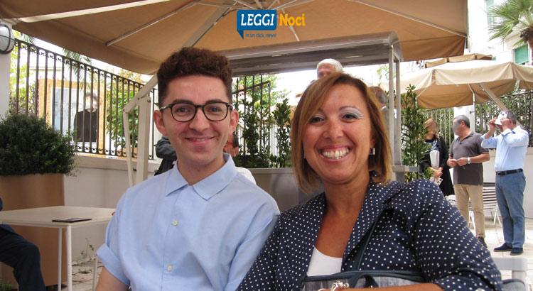 Da sx: Anastasio Mottola e Marta Dongiovanni