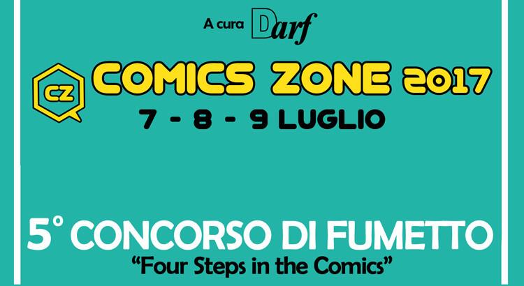 """Darf, pubblicato il regolamento di """"Four Steps in the Comics"""""""