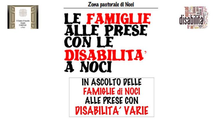Disabilità, percorso formativo per famiglie