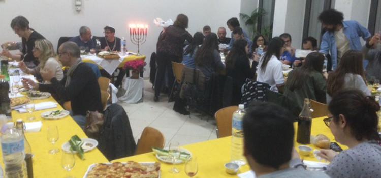 La Cena Ebraica dell'associazione Don Bosco