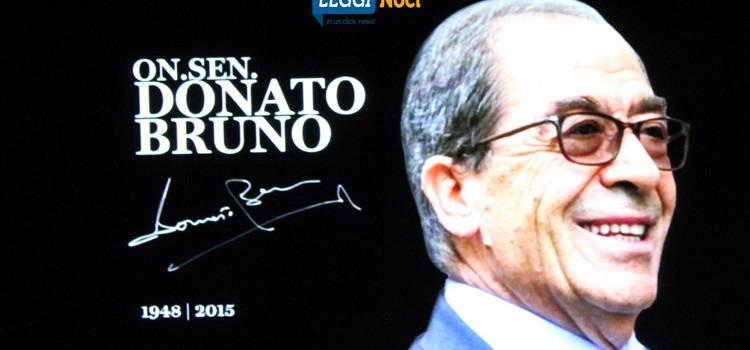 """Nasce la fondazione """"Donato Bruno"""""""