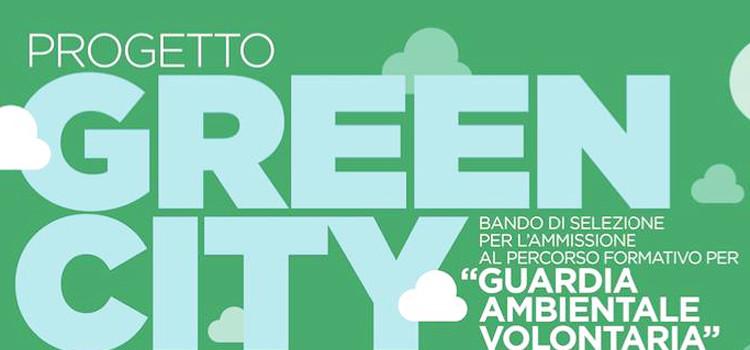"""""""Green City"""", bando per il corso gratuito """"Guardia Ecologica Volontaria"""""""