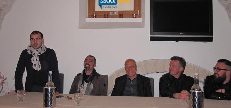 """Pippo Franco presenta Noci in Corrida: """"la vita è arte"""""""