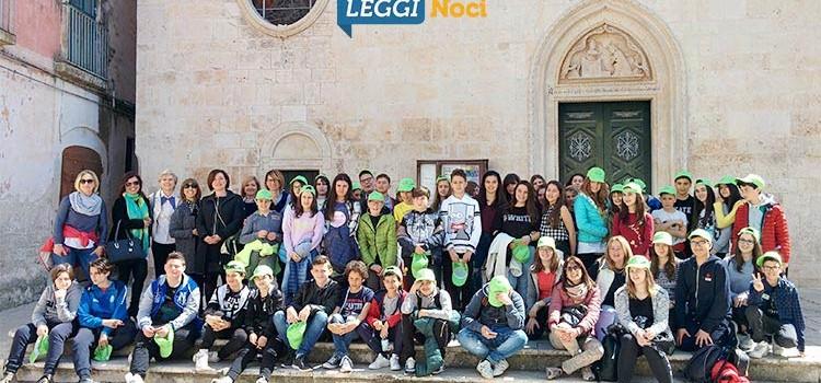Gli alunni del comprensivo di Sarnano in viaggio di istruzione a Noci