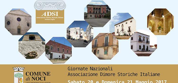 """Il 20 e 21 maggio tornano le """"Giornate Nazionali delle Dimore Storiche Italiane"""""""