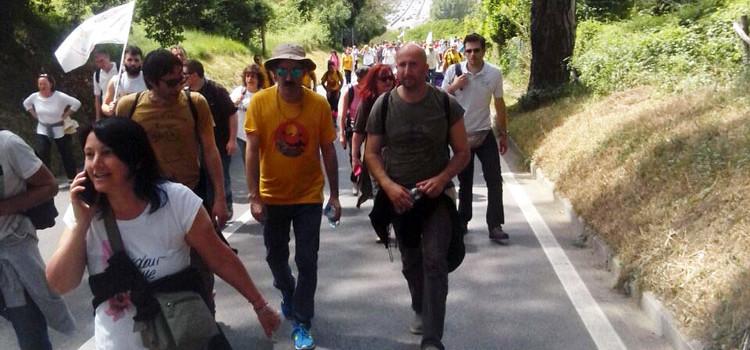 L'architetto nocese Giuseppe Intini racconta la marcia sul reddito di cittadinanza