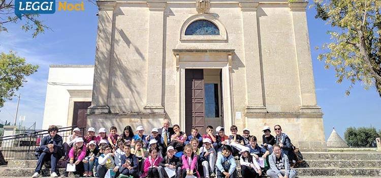 Gli alunni della scuola Cappuccini alla scoperta della devozione della Madonna della Croce