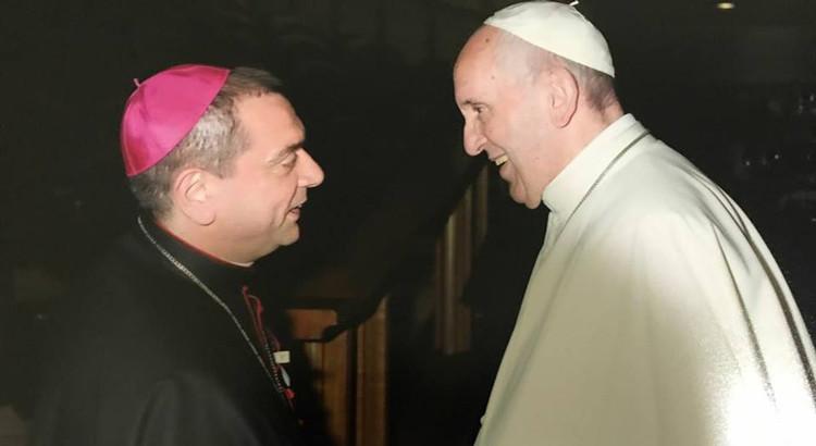 Assemblea CEI: Mons Intini incontra Papa Francesco