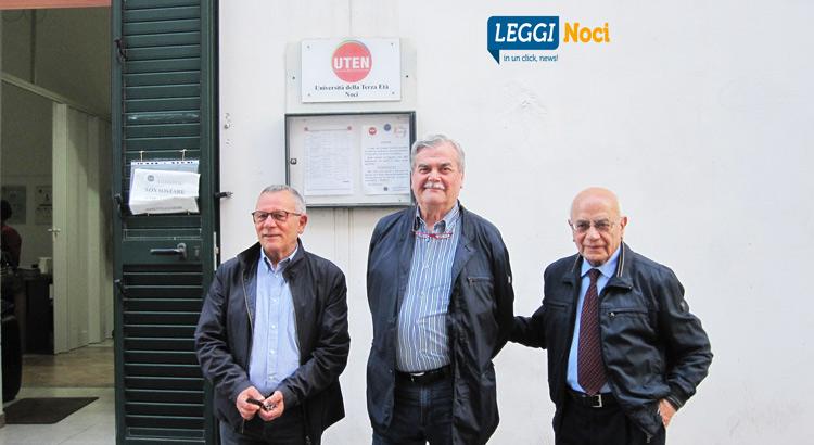 Da sx: Pietro recchia, cesareo Putignano, Vito Liuzzi