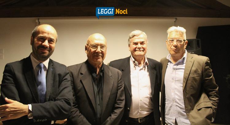 da sx: Domenico Nisi, Franco Terlizzi, Cesareo Putignano, Amedeo Celentano