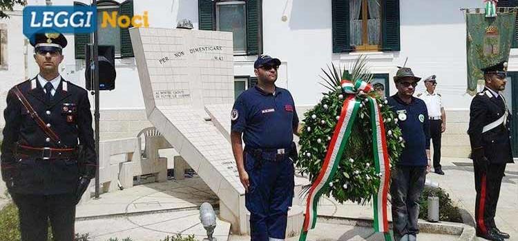 Noci celebra il 71esimo anniversario della Festa della Repubblica Italiana
