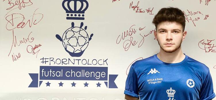 Il nocese Casulli al Borntolock Futsal Challenge 2017