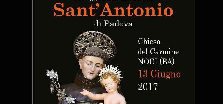 Si festeggia Sant'Antonio di Padova