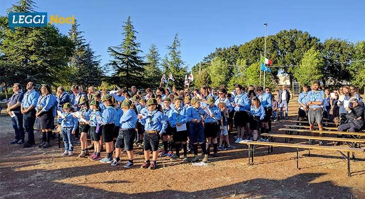 Scout Agesci Noci 2: festa per i vent'anni di servizio sul territorio