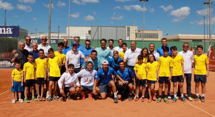 Tennis: il nocese Garzelli in serie A con il CT Maglie