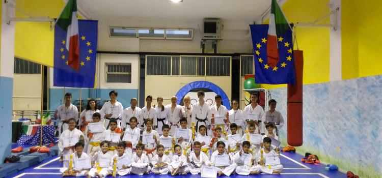 """13^ memorial """"Sante Trevisani"""": esami di cintura per 29 atleti"""