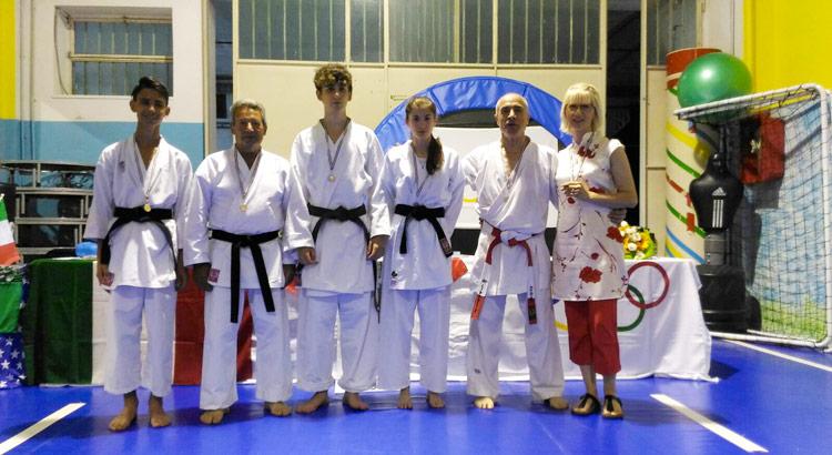 karate-dojo-trivisani-medaglie
