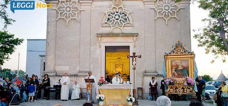Ritorna al Santuario l'effigie della Madonna della Croce